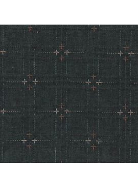 Diamond Textiles Nikko Indigo Granite Dark Navy Pluses