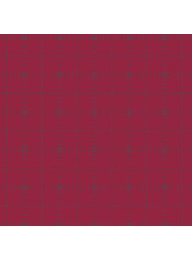 Andover Entwine by Giucy Giuce Ruby Plaid