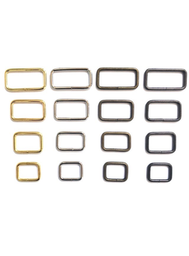 CraftMeStudio Metal Rectangle Rings