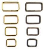 CraftMeStudio Metal Rectangle Rings