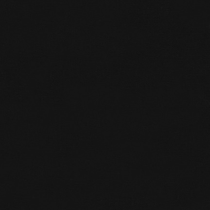 Robert Kaufman Essex Solid Black