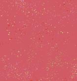 Ruby Star Society Speckled by Rashida Coleman Hale for Ruby Star Metallic Strawberry