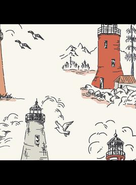 Cotton + Steel Smooth Seas Cotton + Steel Lighthouse Glow