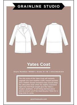 Grainline Studio Yates Coat Pattern by Grainline Studio