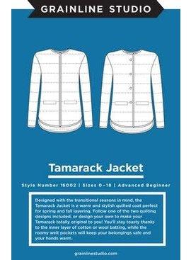 Grainline Studio Tamarack Jacket Pattern by Grainline Studio