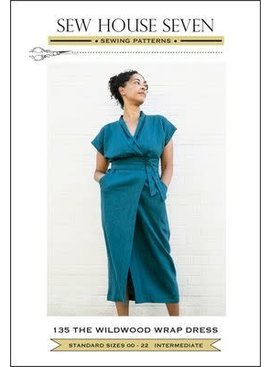 Sew House Seven Sew House Seven Wildwood Wrap Pattern Sizes 0-22