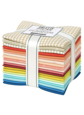 Robert Kaufman Emily Dennis 20 Piece Quilty Love Palette Fat Quarter Bundle