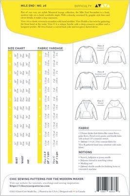 Closet Core Patterns Closet Core Patterns Mile End Sweatshirt