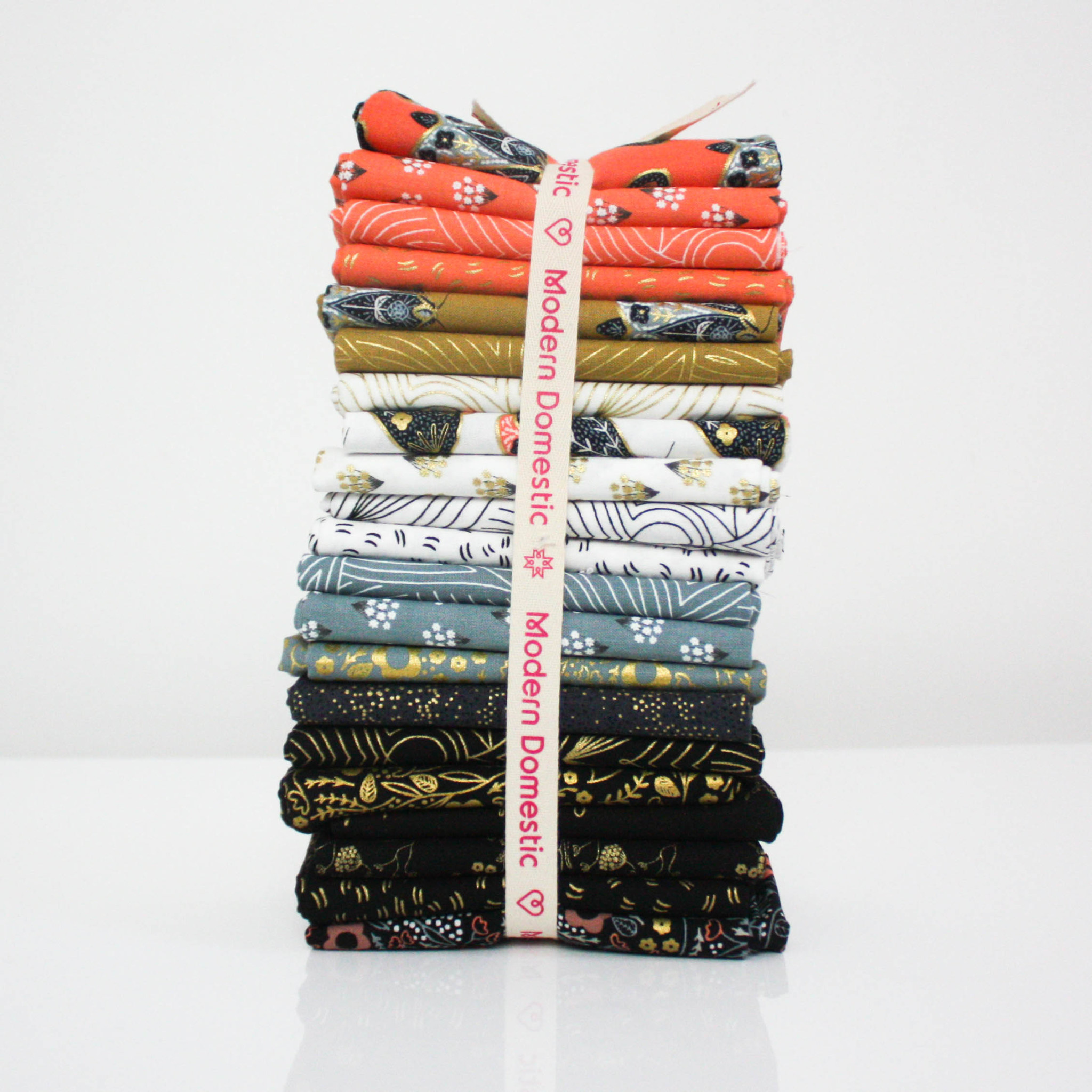 Modern Domestic 21 Piece Fat Quarter Bundle - Dwell in Possibilities by Gingiber
