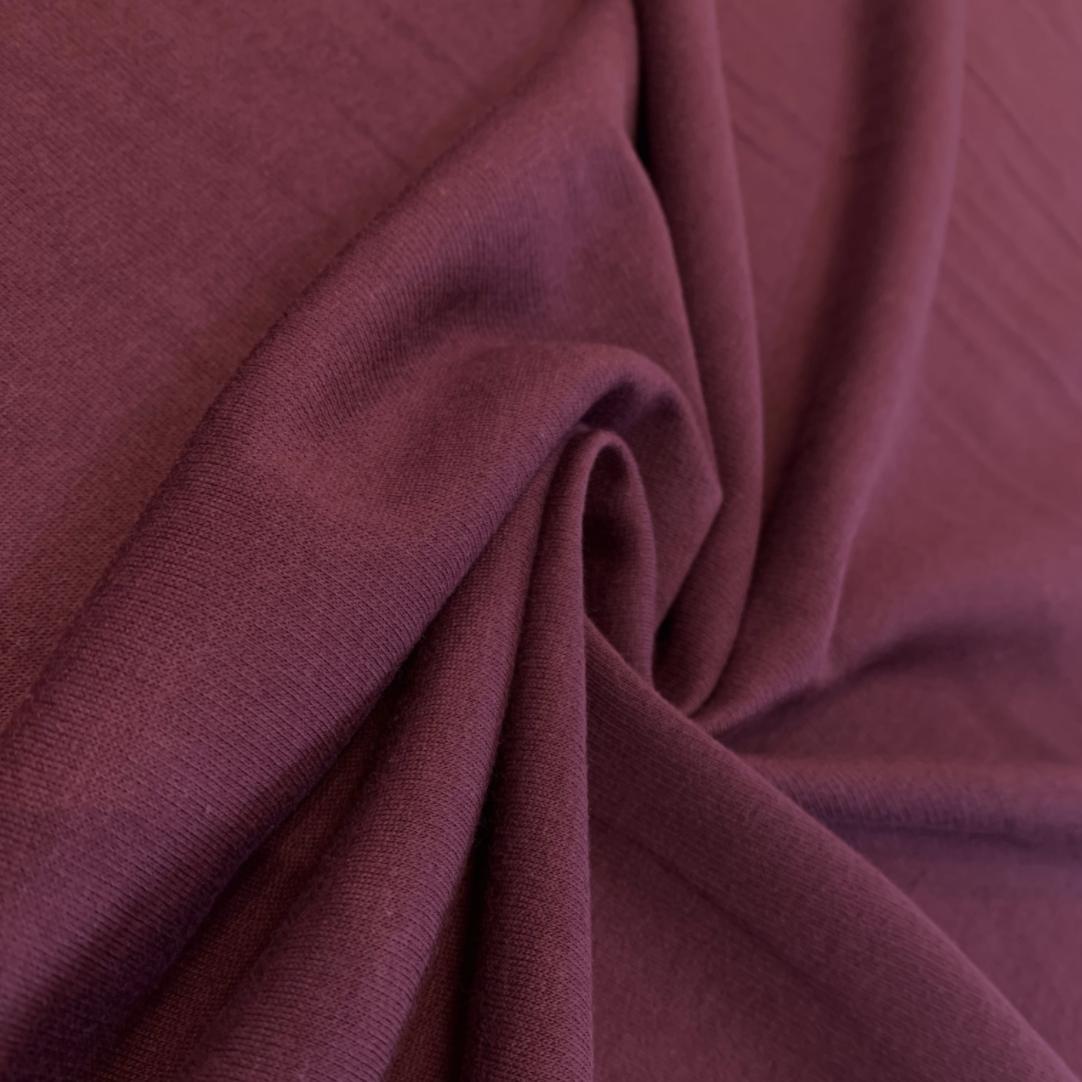 Fabric Mart Maroon Sweatshirt Fleece