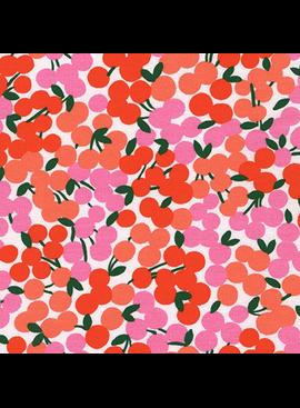 Robert Kaufman Cherry Blossom Knit Apple