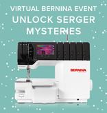 Erica Horton Virtual BERNINA Event: Unlock Serger Mysteries – Saturday, April 24th 10-11am PT