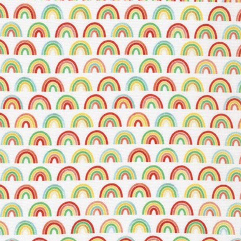 Robert Kaufman Bright Days Rainbow Bright Small