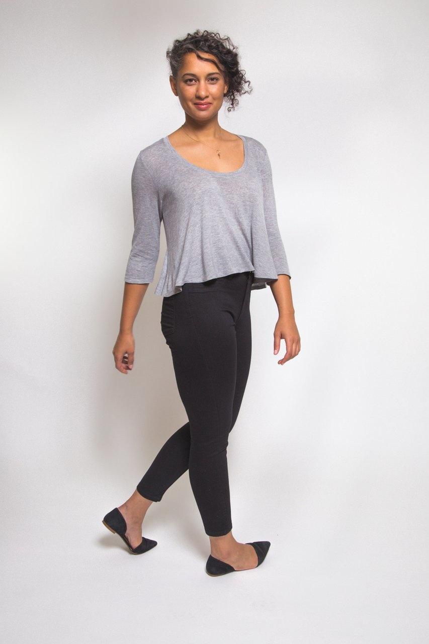 Closet Core Patterns Closet Core Patterns Ebony Knit T-Shirt and Dress