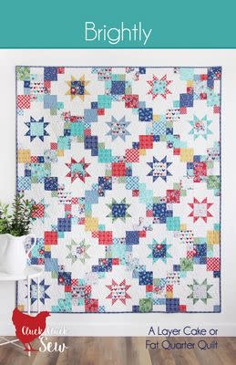 Cluck Cluck Sew Brightly Quilting Pattern by Cluck Cluck Sew