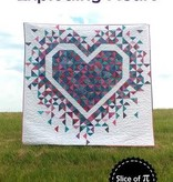 Slice of Pi Quilts Exploding Heart Quilting Pattern by Slice of Pi Quilts