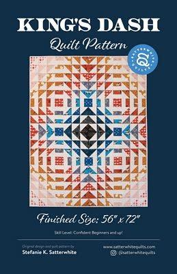 Stefanie Satterwhite King's Dash Quilt Pattern