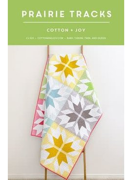 Cotton and Joy Cotton and Joy Prairie Tracks Quilt Pattern