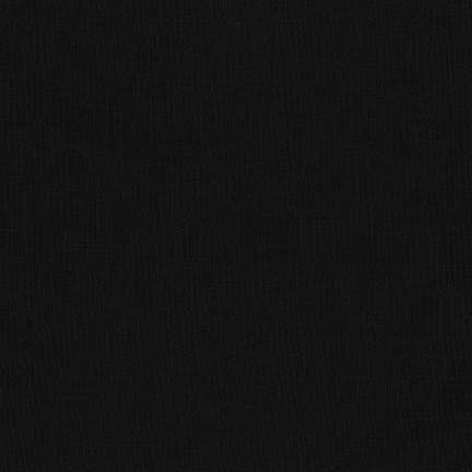 "Robert Kaufman Kona Cotton 108"" Wide Black"