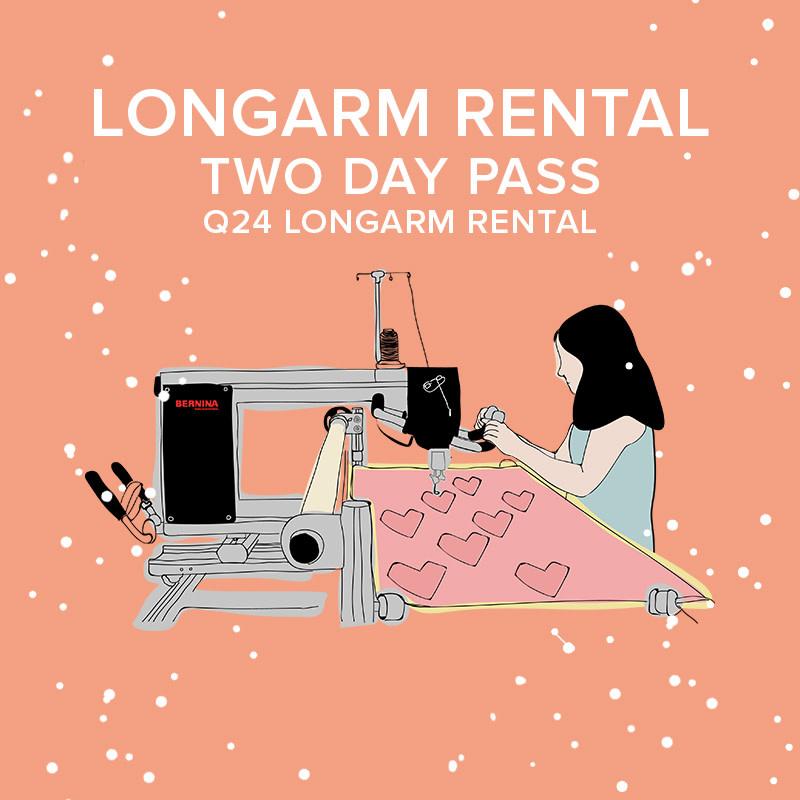 Modern Domestic Longarm Rental Q24 Two Day Pass - NE Alberta St.