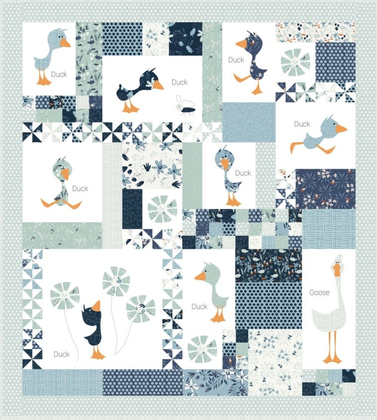 Meags & Me Duck Duck Goose Quilting Pattern by Meags & Me