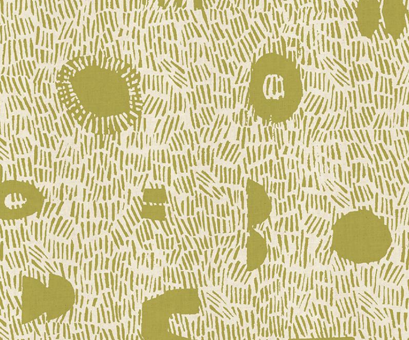 Cotton + Steel Homestead Grass  Limelight