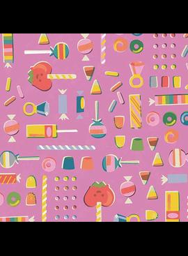 Riley Blake Tiny Treaters Retro Candy Pink