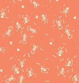 Riley Blake Tiny Treaters Skeletons Orange