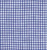 Robert Kaufman Limerick Linen Yarn Dyed-Royal-Small Check