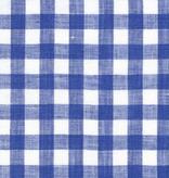 Robert Kaufman Limerick Linen Yarn Dyed-Royal-Big Check