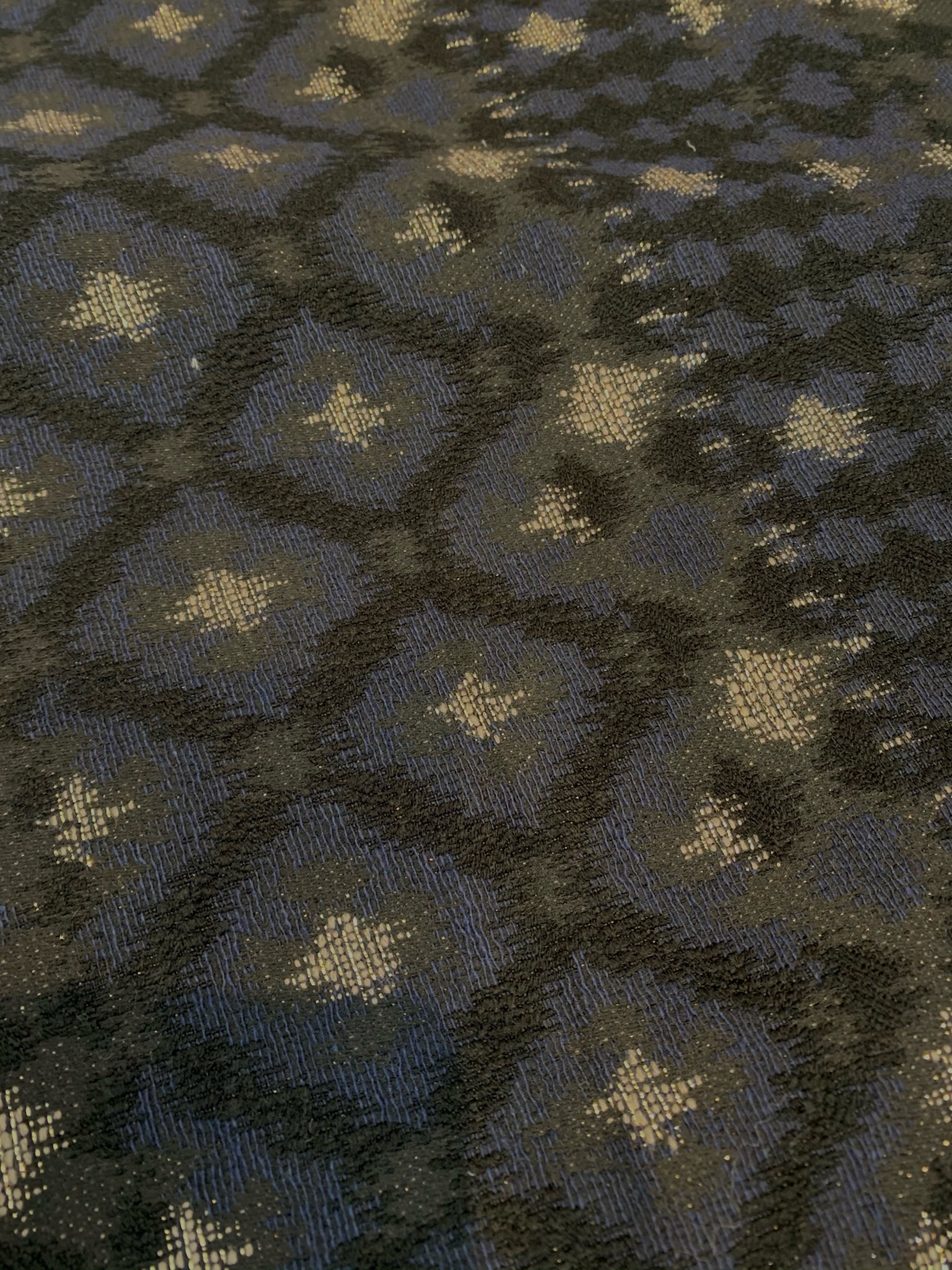 S. Rimmon & Co. Textured Metalic Jacquard