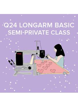 CLASS FULL Q 24 Longarm Basic, Wednesday & Thursday July 21 & 22, 9:30 - 11:30am