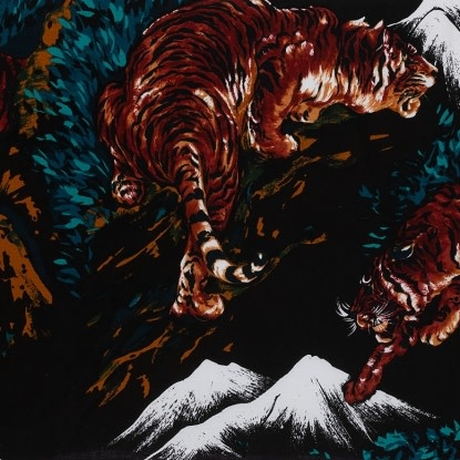 Alexander Henry Tora Tiger Black by Alexander Henry