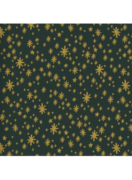 Cotton + Steel Holiday Classics by Rifle Paper Co. Starry Night Evergreen