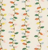 Cotton + Steel Holiday Classics by Rifle Paper Co. Holiday Lights Cream