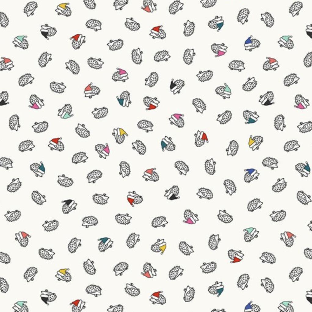 FIGO Peppermint by Dana Willard Hedgehogs White