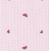 Robert Kaufman Seersucker Coast Prints Pink Watermelons