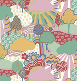 Riley Blake The Carnaby Collection by Liberty Fabrics Bohemian Brights Sunny Afternoon