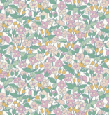 Riley Blake The Carnaby Collection by Liberty Fabrics Bohemian Brights Piccadilly Poppy Lilac