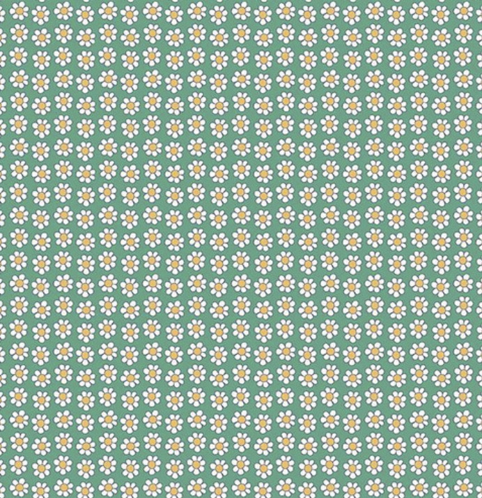 Riley Blake The Carnaby Collection by Liberty Fabrics Bohemian Brights Daisy