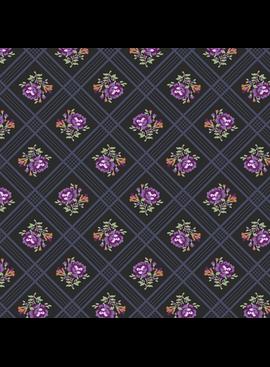 Windham Gather Trellis Purple by Windham Fabrics