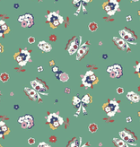 Riley Blake The Carnaby Collection by Liberty Fabrics Bohemian Brights Fluttering Floral