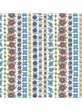 Riley Blake The Carnaby Collection by Liberty Fabrics Bohemian Brights Soho Stripe