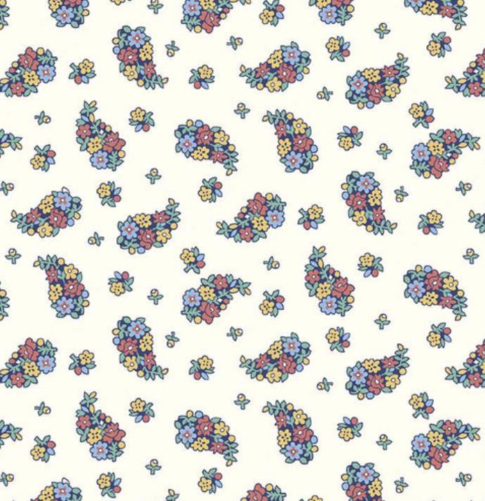 Riley Blake The Carnaby Collection by Liberty Fabrics Bohemian Brights Portobello Paisley