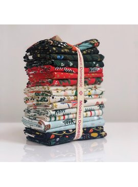 Rifle Paper Co Holiday Classics by Rifle Paper Co. 17 Fat Quarter Bundle