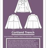 Grainline Studio Cortland Trench Pattern by Grainline Studio - Sizes 0-18