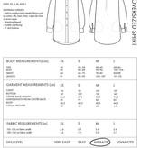 The Assembly Line Patterns Oversized Shirt XS-L pattern by The Assembly Line Patterns