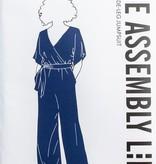 The Assembly Line Patterns Wide Leg Jumpsuit XS-L pattern by The Assembly Line Patterns