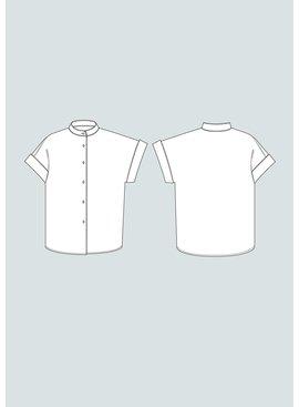 The Assembly Line Patterns Cap Sleeve Shirt XL-3XL pattern by The Assembly Line Patterns