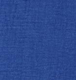 Kokka Kokka Yarn Dyed Double Gauze Blue